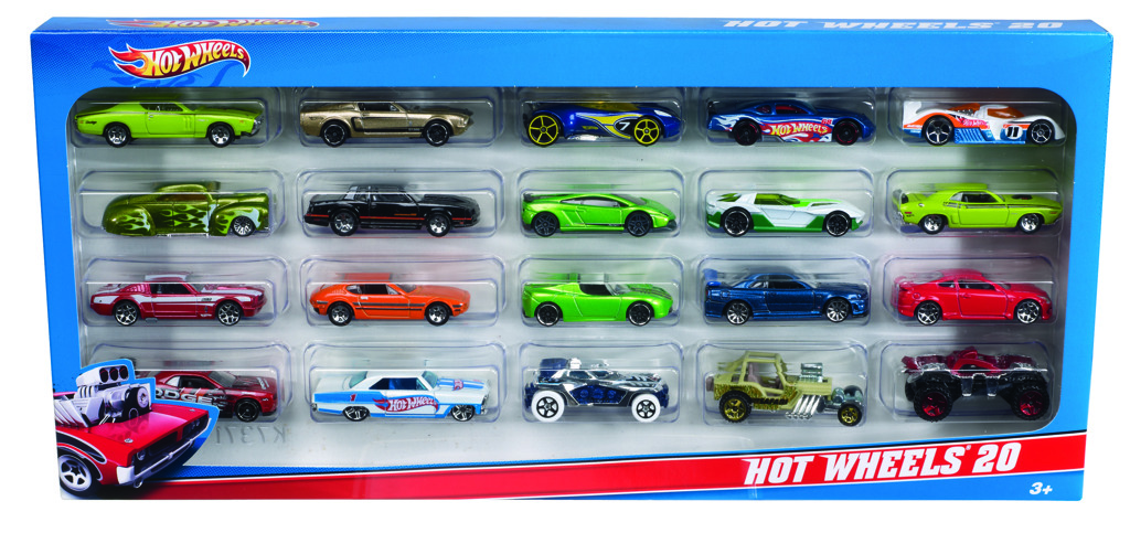 Hot Wheels 20 ks angličák
