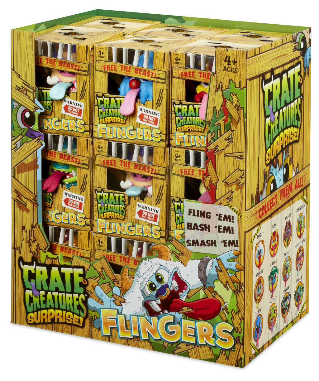 Crate Creatures Surprise Flingers PDQ Wave 1