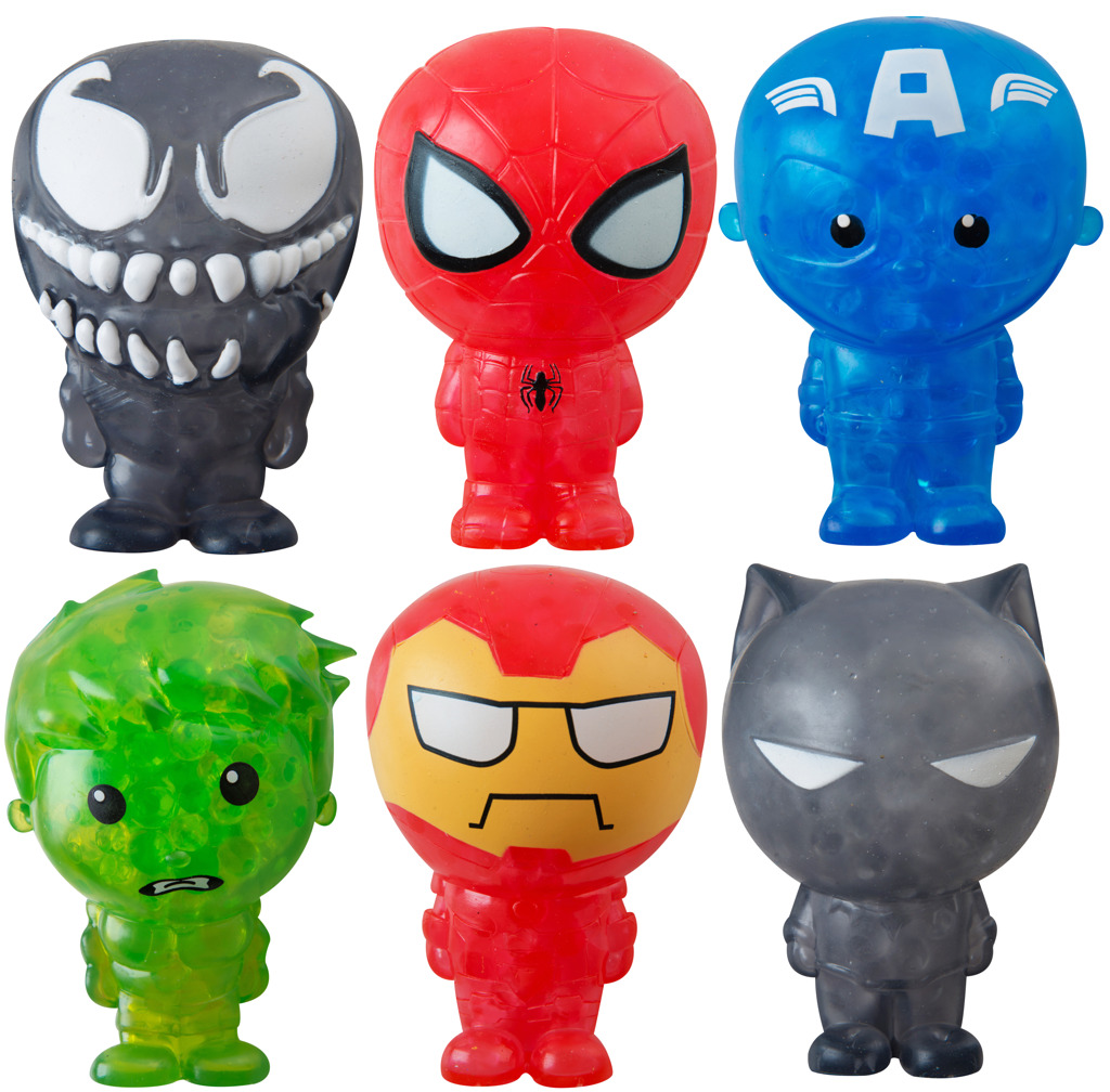 Figurky Bubble Palz Marvel