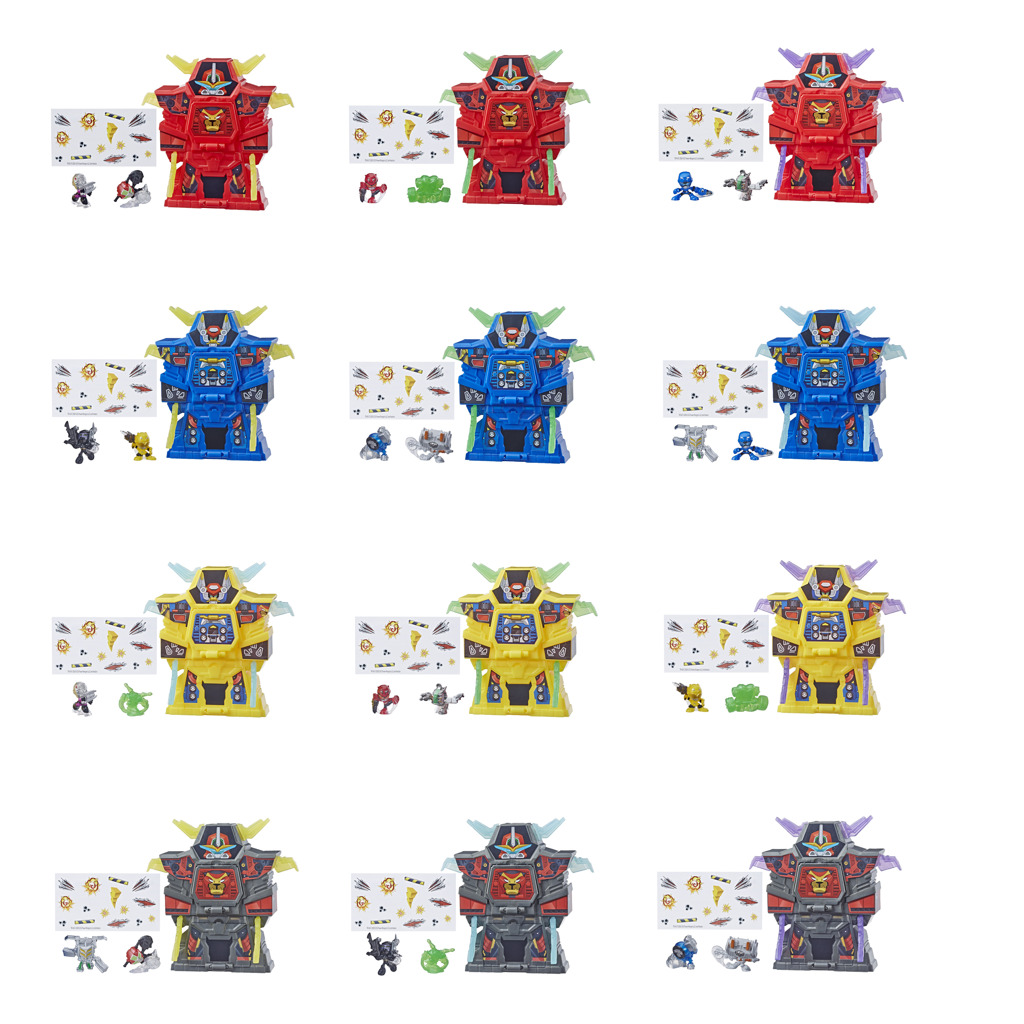 Power Rangers Mega Micro Morphers