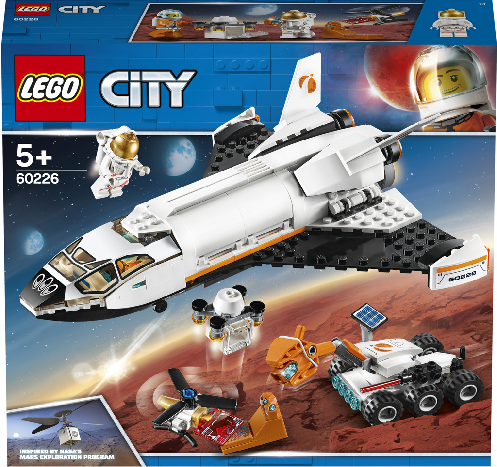 LEGO® City 60226 Space Port Raketoplán zkoumající