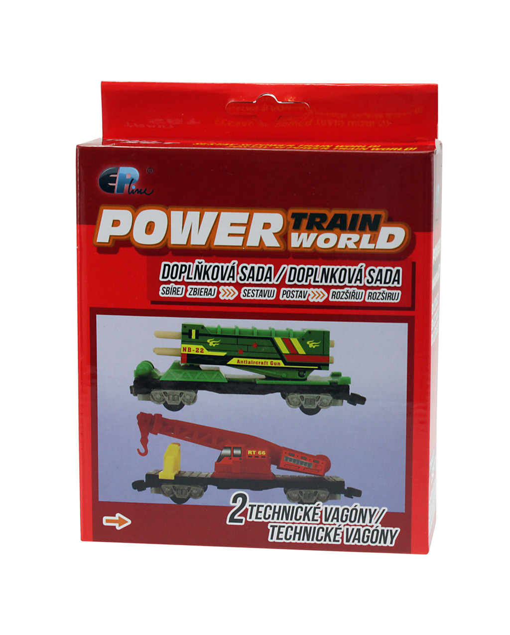 Power train World - Technické vagóny
