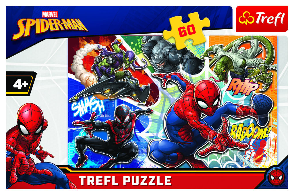 Puzzle Disney Marvel Spiderman 60 dílků